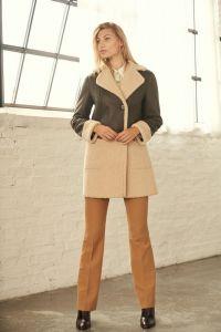 Damen-Teddy-Textil-Jacke
