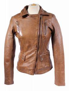 Damen_Lederjacke_Lamm_Nappa_Echtleder-slimfit-washed leather XS-2XL
