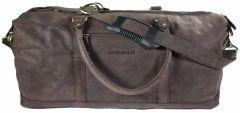 Weekender Duffle Bag CON Reise Tasche Echt Leder natural braun