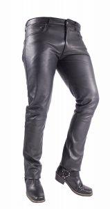 Herren-Lederhose- Jeans-Tight- Pants-slimfit-schwarz- Lamm-Nappa-Echtleder