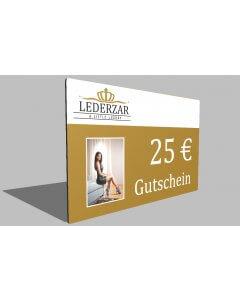 25,- € Geschenkgutschein