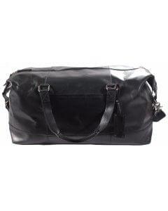 Weekender Duffle Bag Omert Reise Tasche Echt Leder natural Schwarz