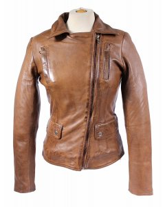 Damen_Lederjacke_Lamm_Nappa_Echtleder-slimfit-washed leather XS-2XL